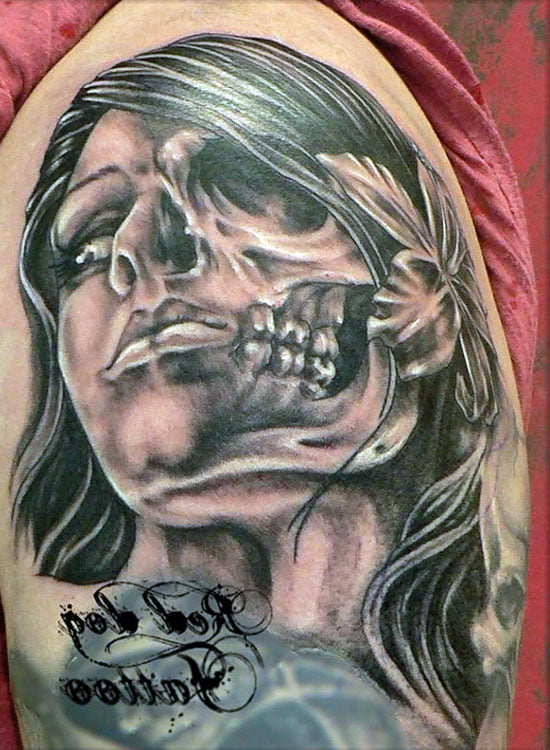 Skulls Tattoos Pictures