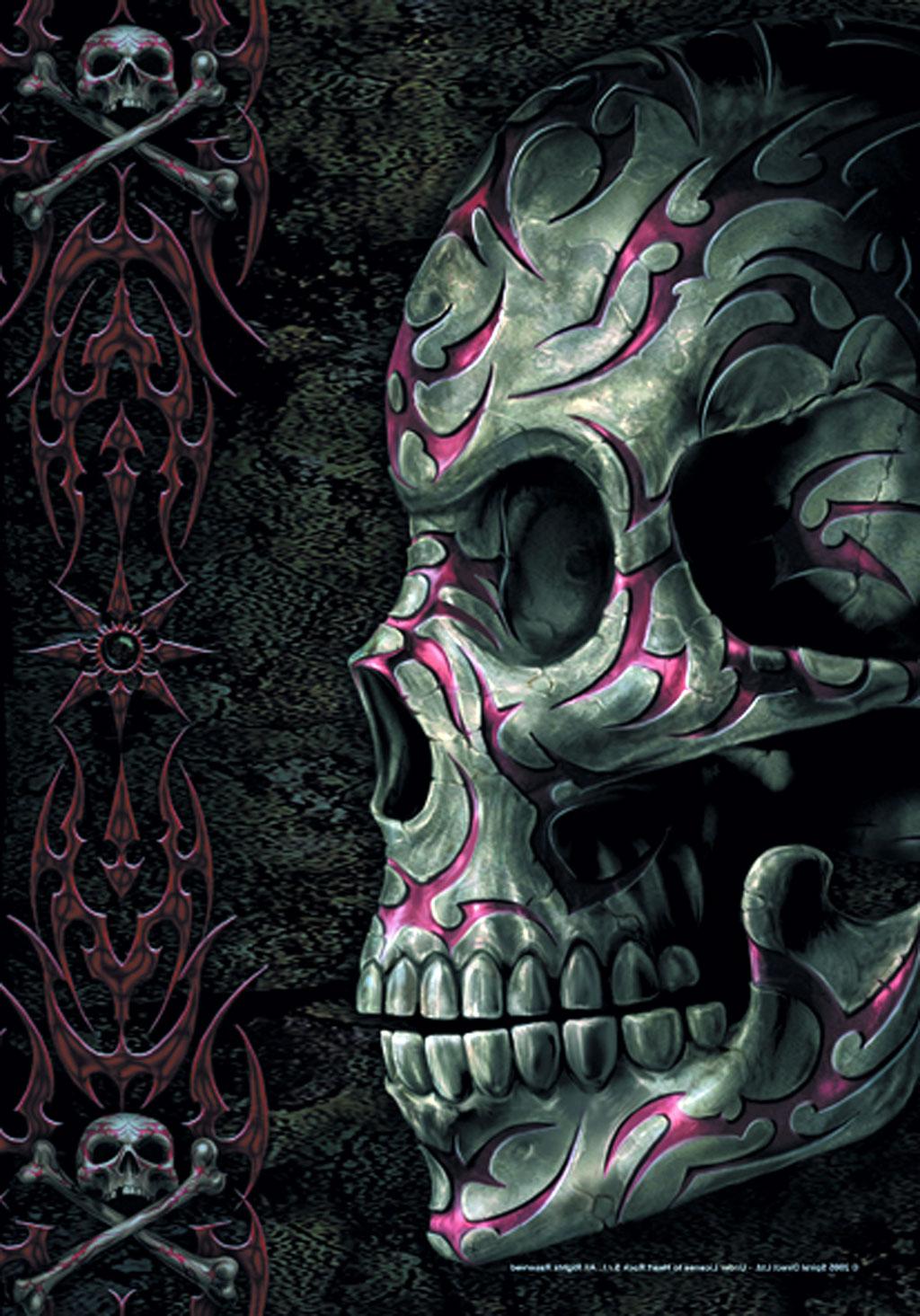 Skulls Tattoovorlagen  Cool Tattoos Bonbaden