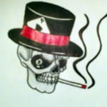 Smoking Skull Tattoos