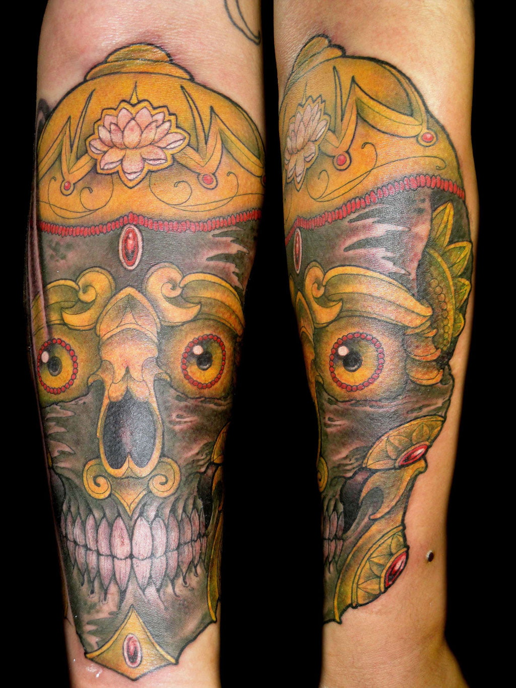 Tibetan Skull Tattoo Meaning