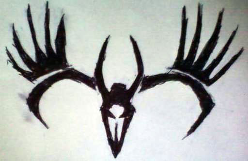 Tribal Deer Skull Tattoos