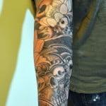 Sun Sleeve Tattoos