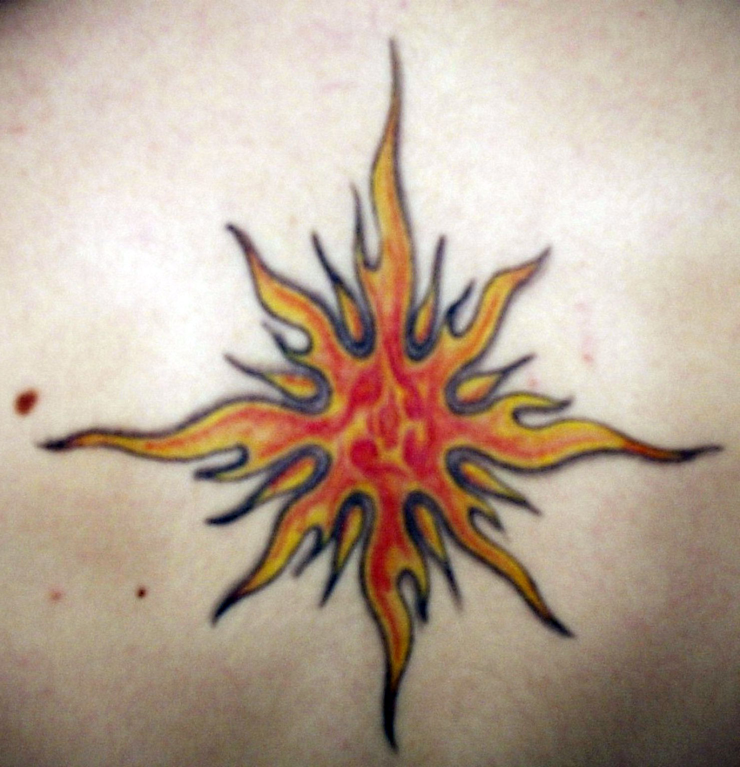 Sun Tattoo Images