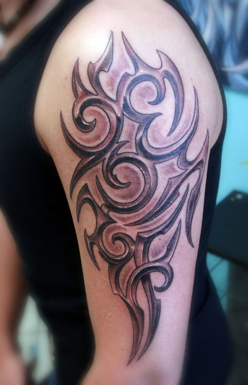 3d Tribal Tattoo Pictures
