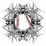 Baseball Tribal Tattoos