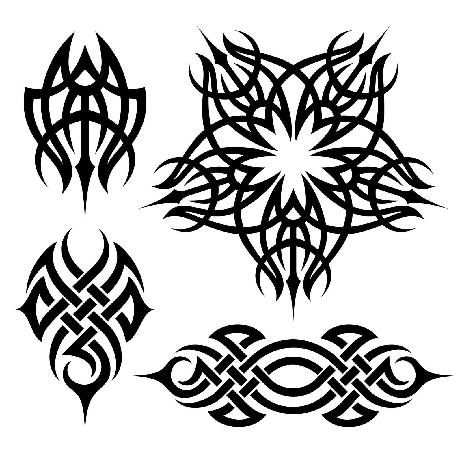 Make Your Own Tribal Tattoo Designs
