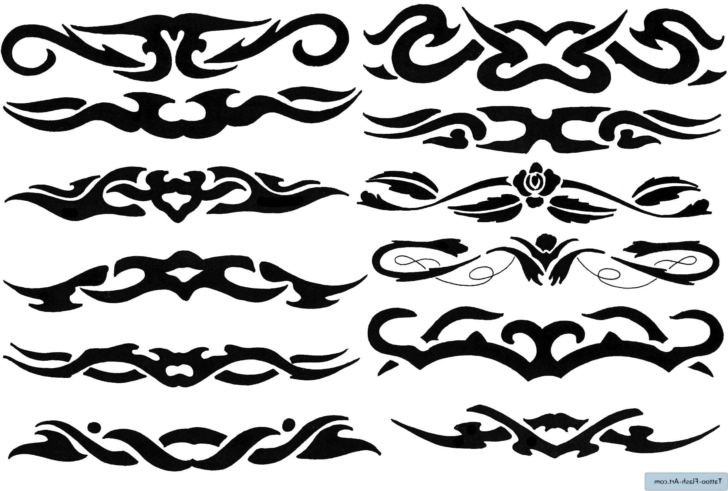 Free Tribal Art Tattoo Designs