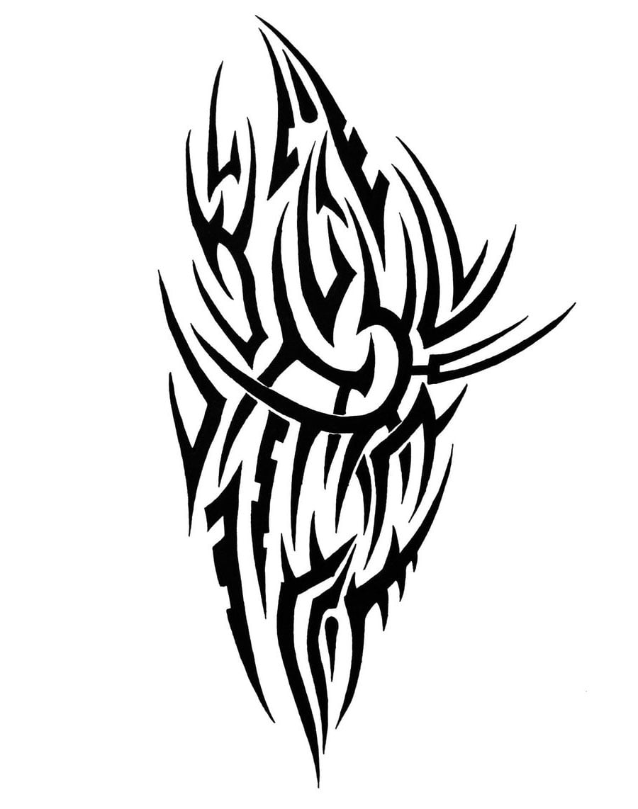 Free Tribal Shoulder Tattoos Designs