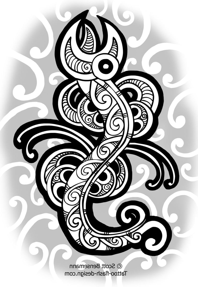 Maori Tribal Tattoos Pictures