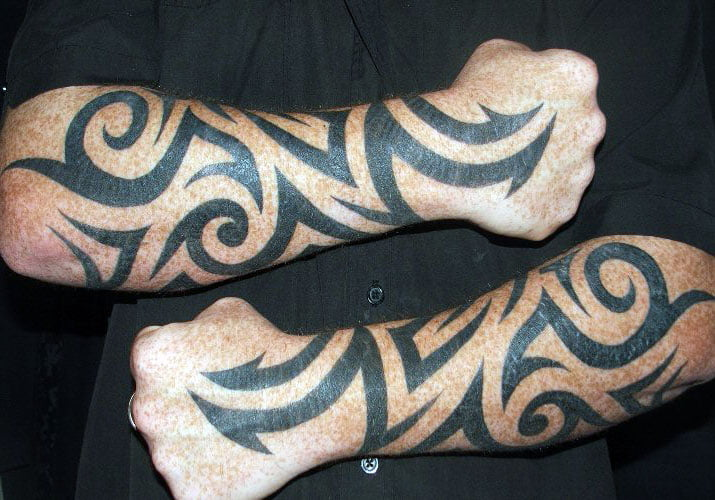 Mens Tribal Tattoo Sleeves