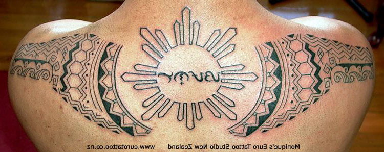 Philippine Tribal Tattoo Designs
