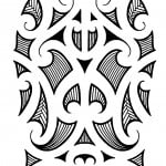 Polynesian Maori Tribal Tattoo