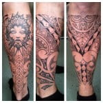 Polynesian Tribal Tattoo Designs For Men