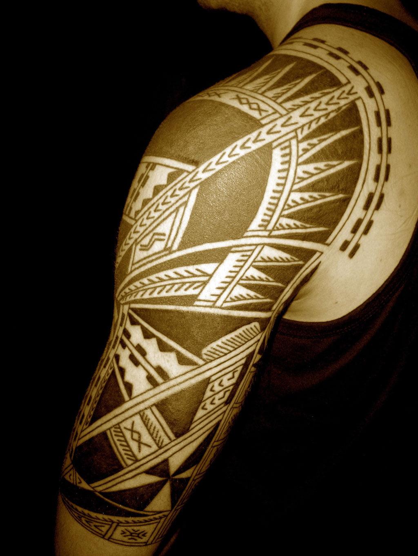 Samoan tribal tattoo meanings cool tattoos bonbaden for Samoan tattoo meaning