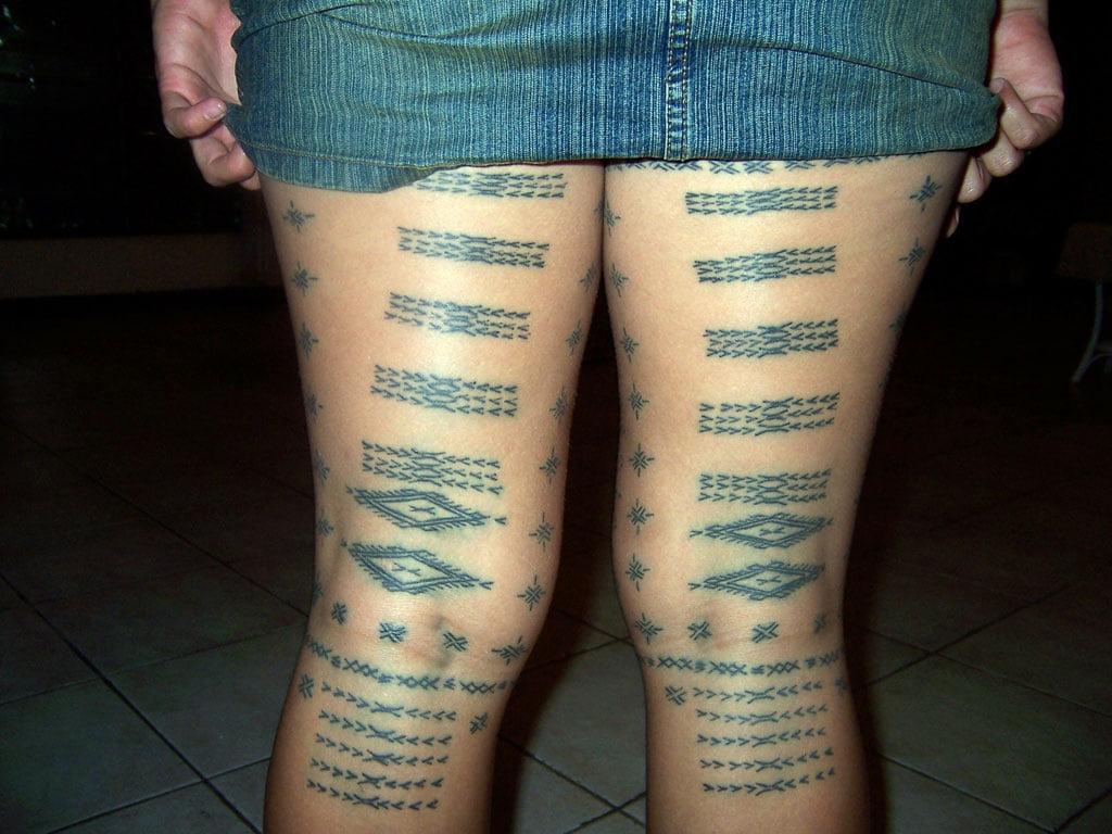 Samoan Women Tattoos Samoan Woman Tattoos P...