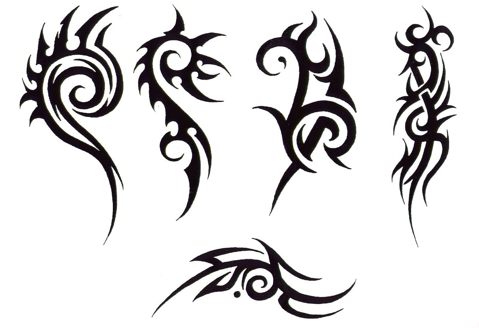 Tribal design tattoos for women cool tattoos bonbaden for Women s tribal tattoos designs