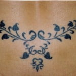 Tribal Tattoo For Women Lower Back