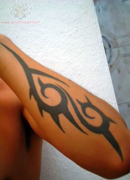 Tribal Tattoo On Forearm | Cool Tattoos - Bonbaden