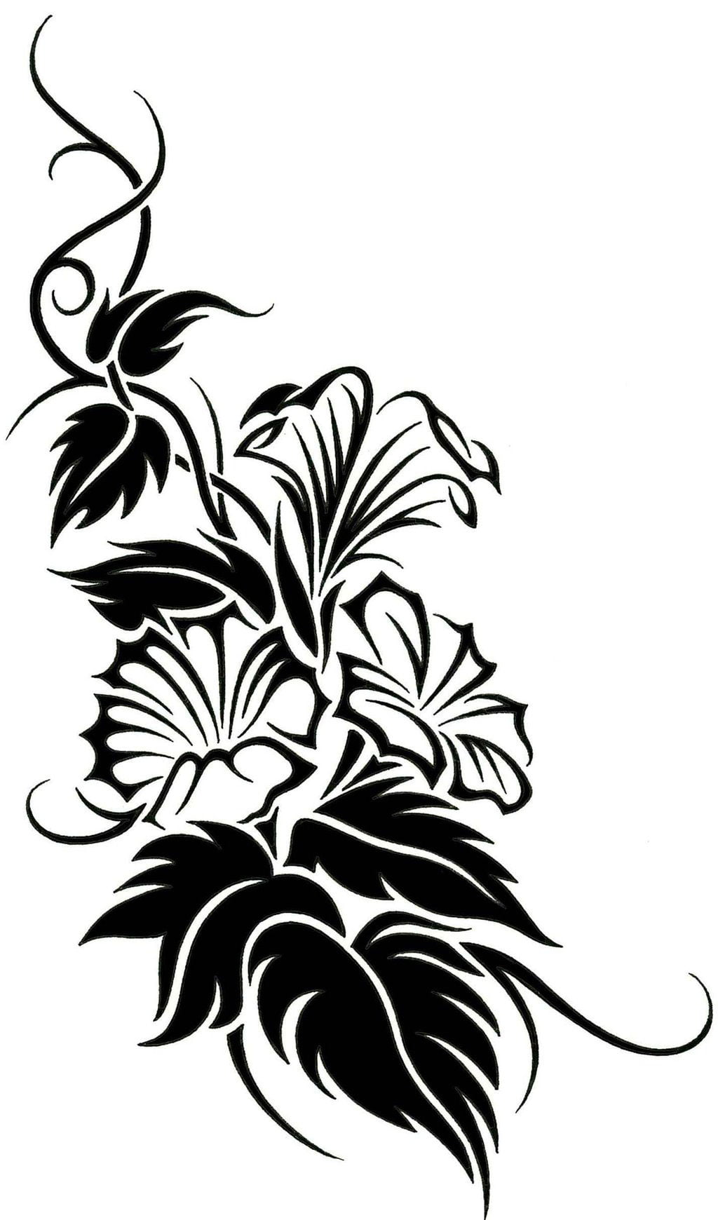 Tribal Vine Tattoo Designs