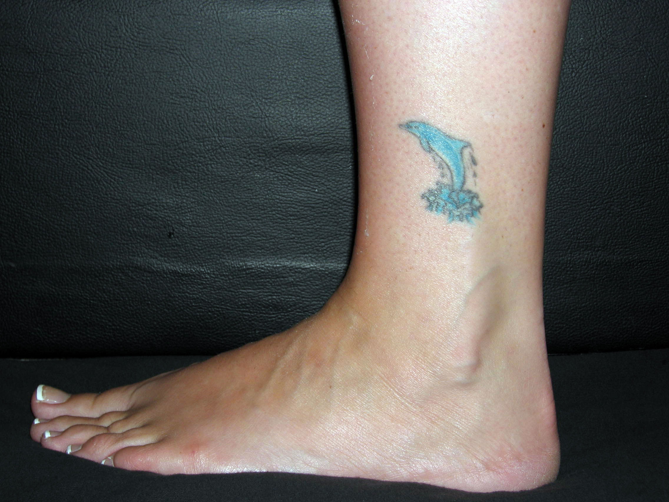 Ankle Band Tattoos For Women