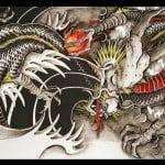 Asian Dragon Tattoos Designs