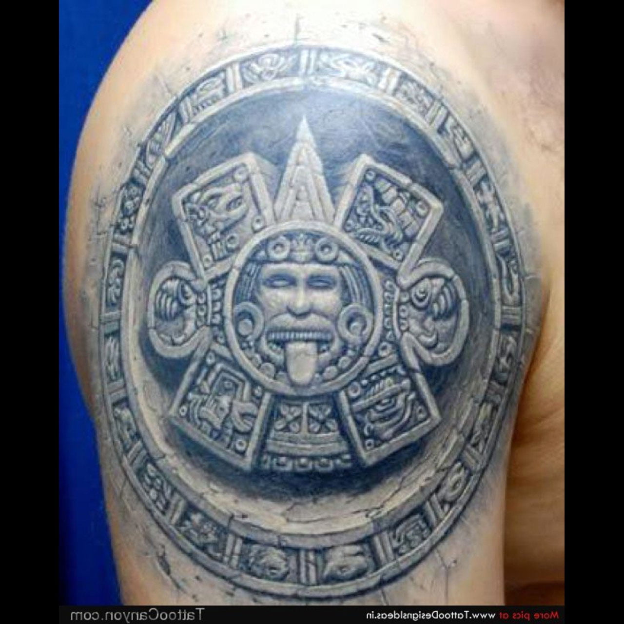 Aztec Culture Tattoos Art