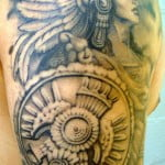 Aztec Warrior Tattoos Designs