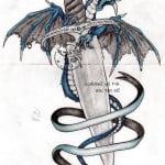 Bad Ass Dragon Tattoos