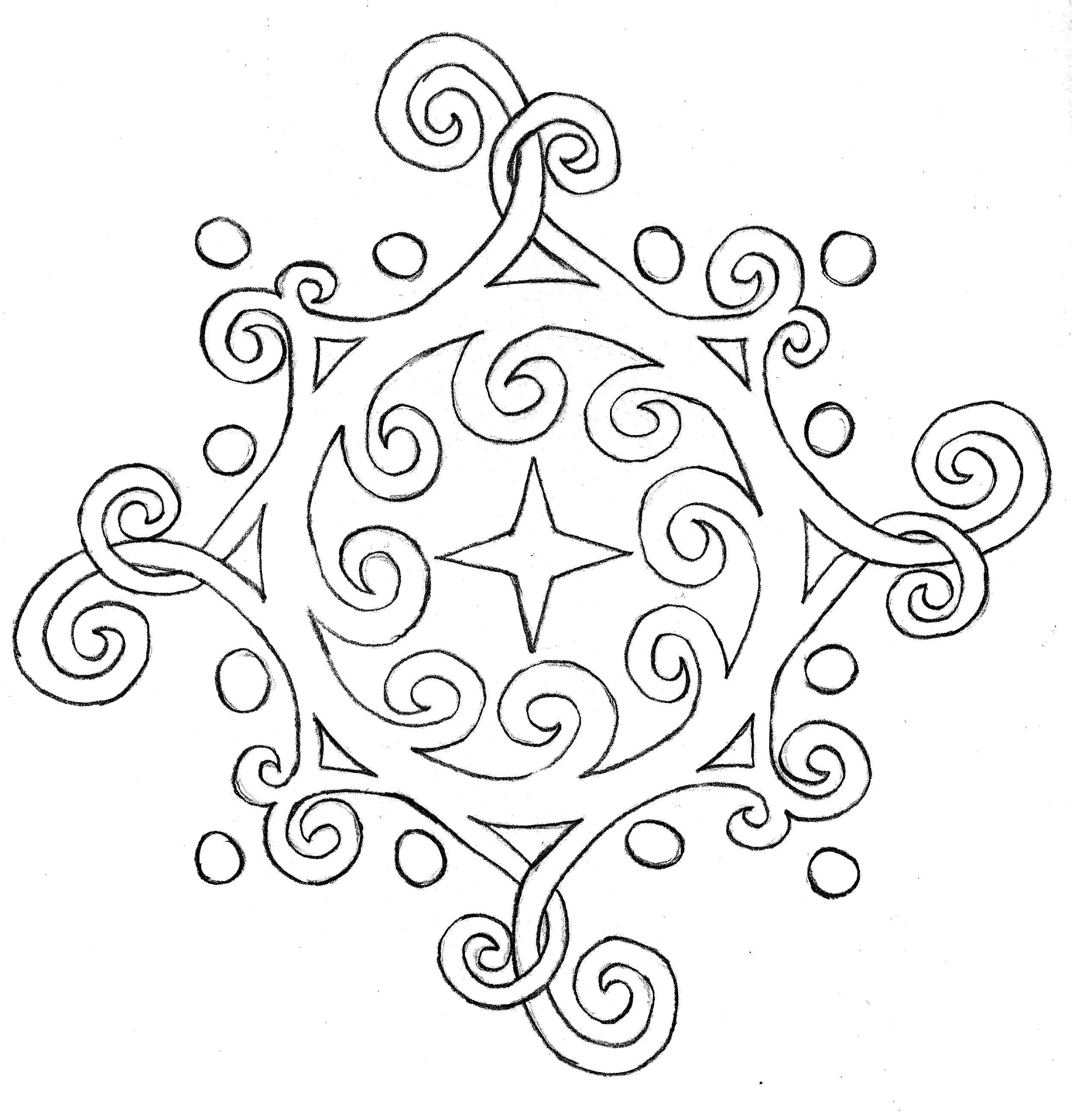 Black And White Celtic Designs