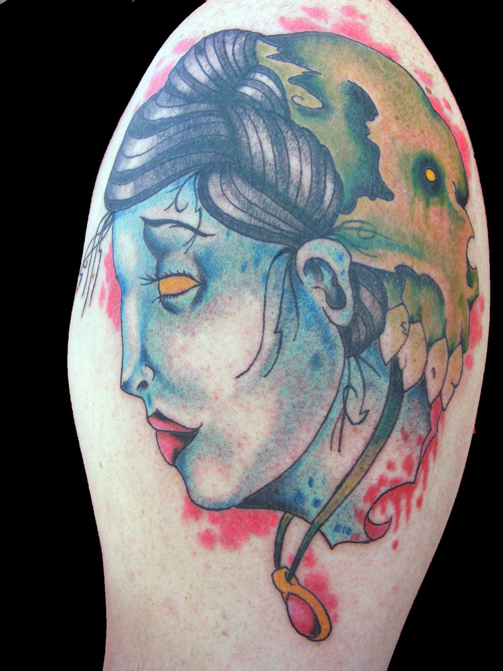 Candy Skull Girl Tattoos
