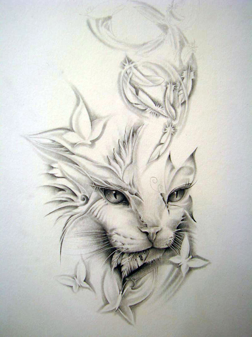 Cat Eye Tattoos Designs