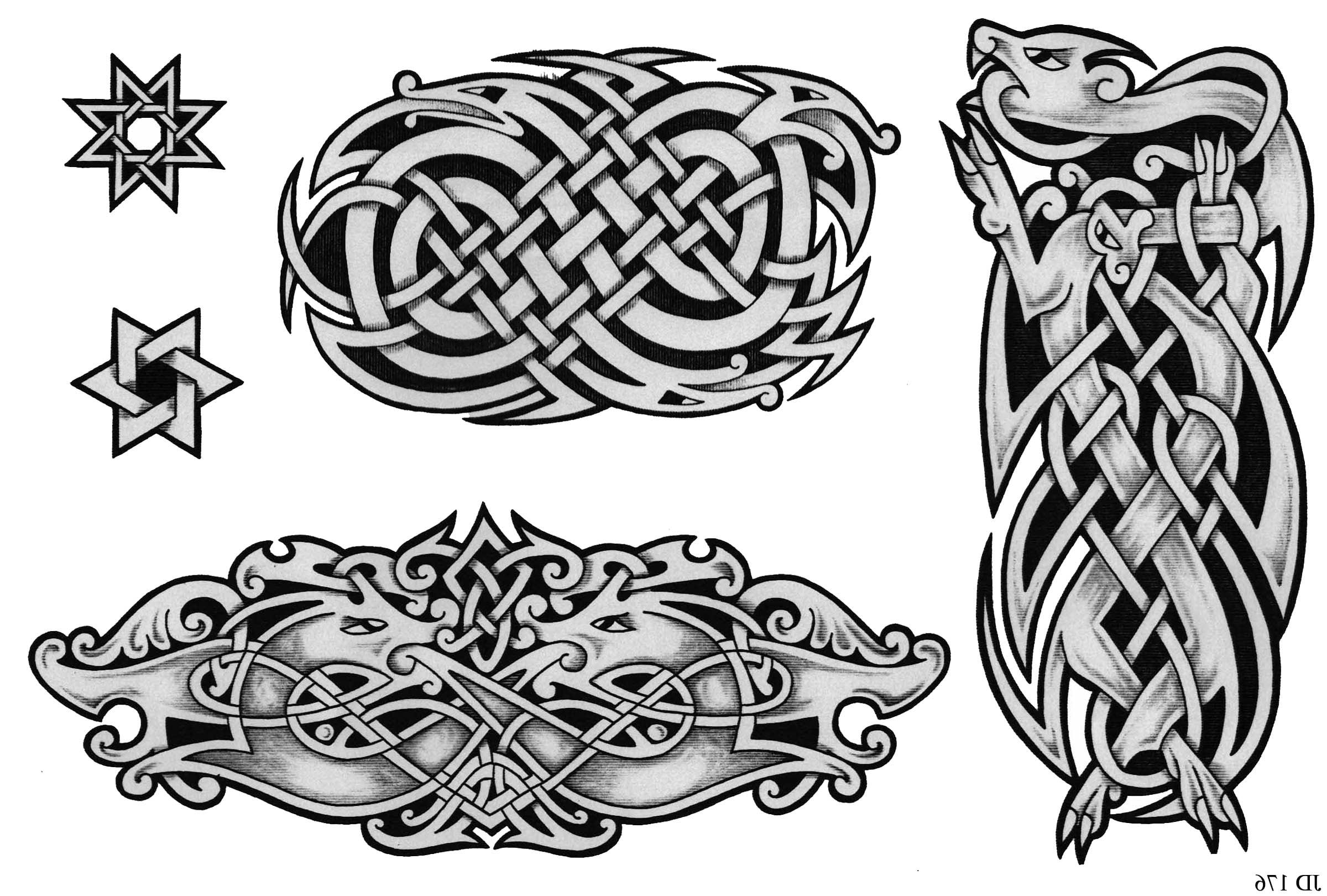 Celtic Animal Designs Bear