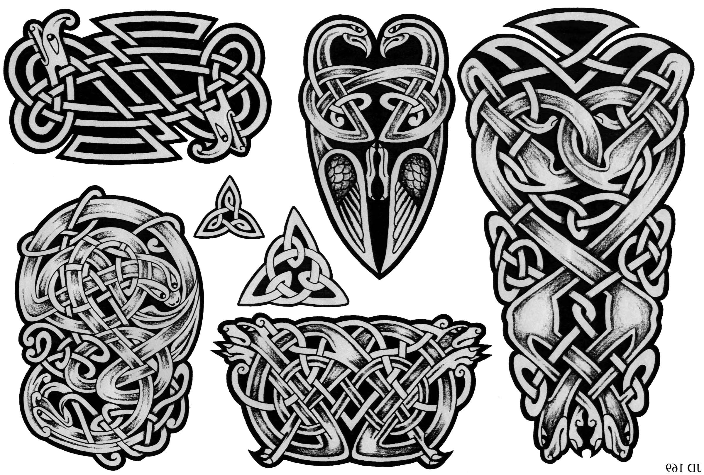 celtic writing tattoos