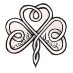Celtic Shamrock Tattoos Designs
