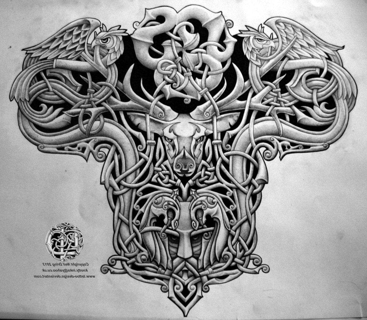 celtic tree tattoos designs cool tattoos bonbaden. Black Bedroom Furniture Sets. Home Design Ideas
