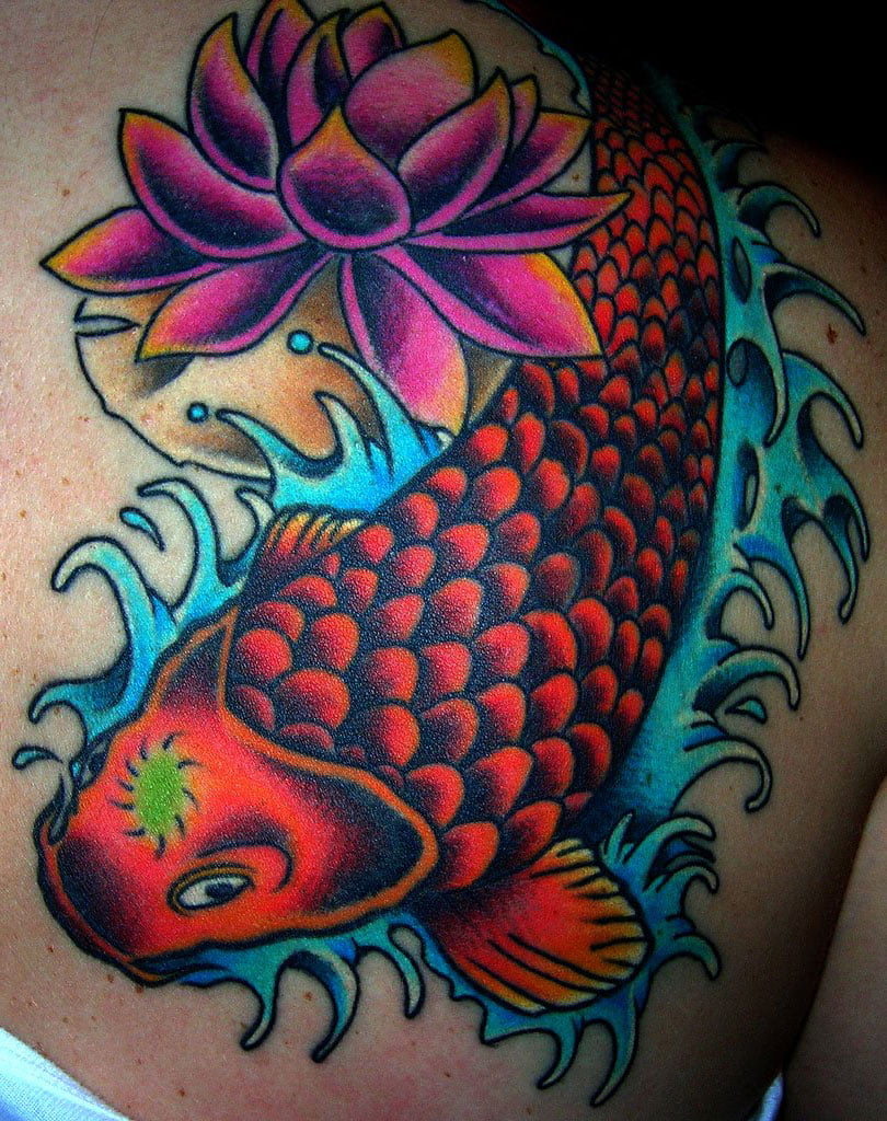Coy Fish Tattoos Design | Cool Tattoos - Bonbaden