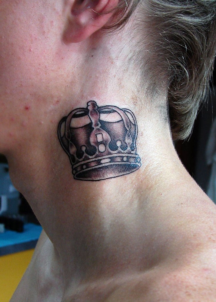 Crown Tattoos Designs For Girls
