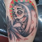 Day Of The Dead Virgin Mary Tattoos