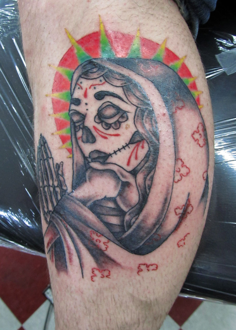 60 day of the dead tattoos you will want to get asap - HD 900×1258
