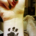 Doggie Paw Print Tattoos