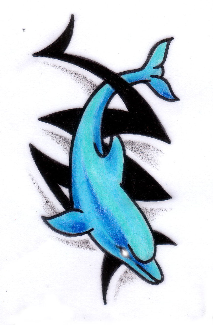 Dolphin Tattoos Designs For Women