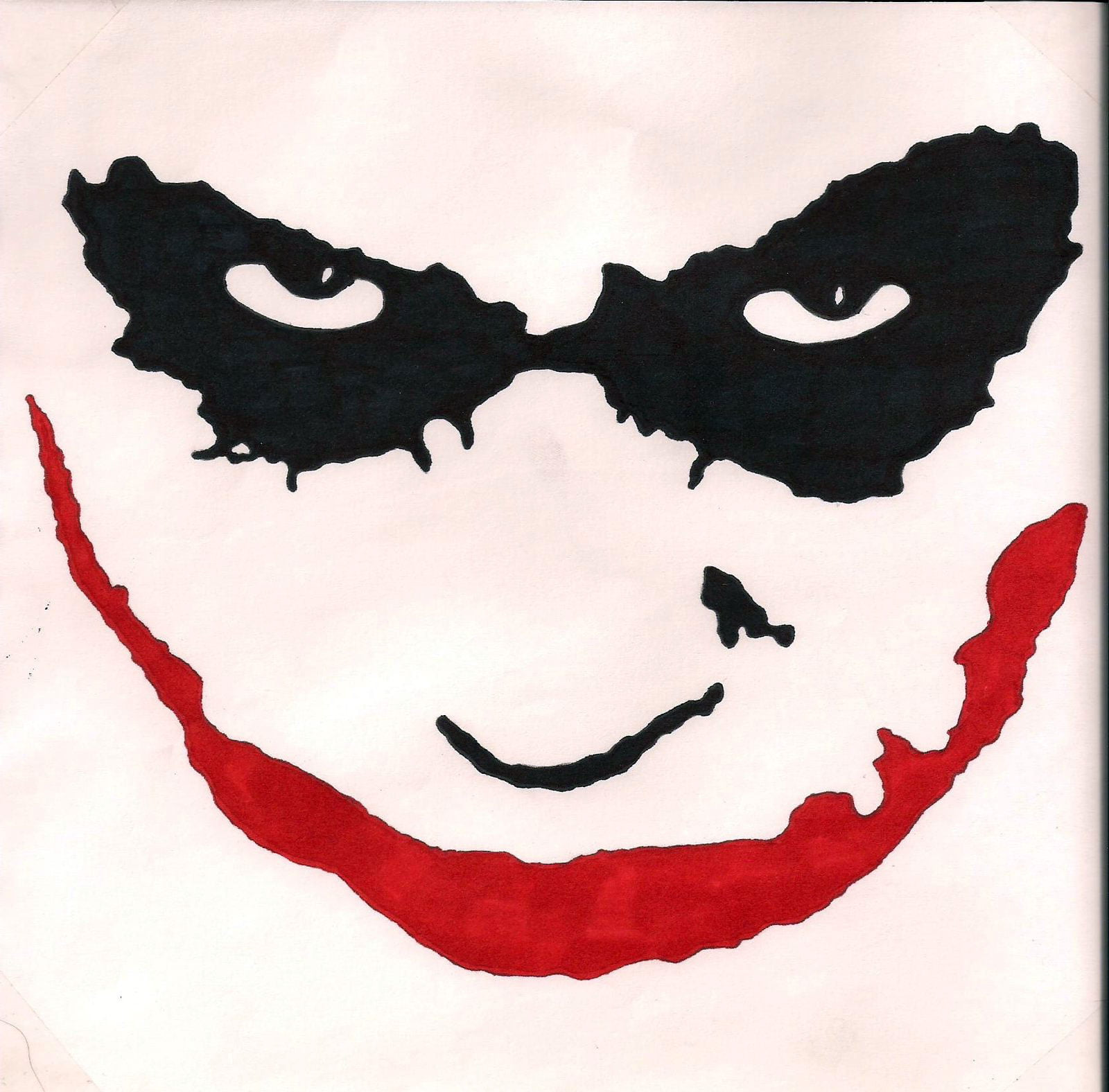 Joker face drawings related keywords amp suggestions joker face