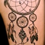 Dream Catcher Tattoos Pictures