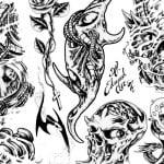 Edward Lee Tattoos Flash