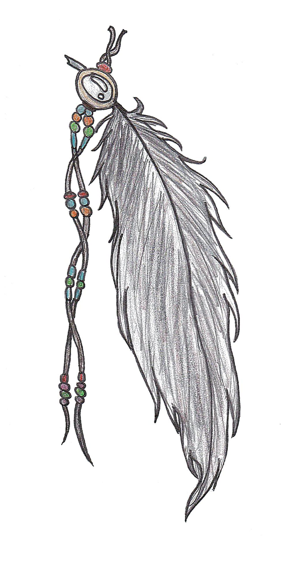 Feather Designs For Tattoos
