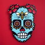 Female Dia De Los Muertos Tattoos