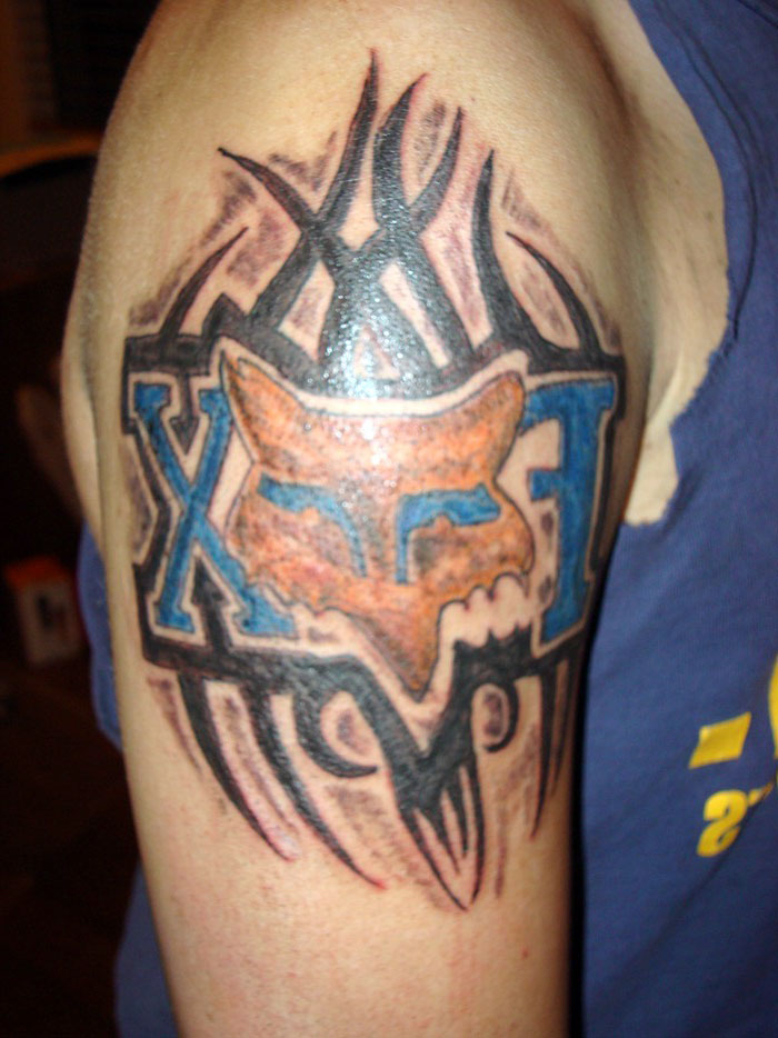 Fox Racing Tattoos For Girls