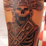Free Aztec Tattoos Designs