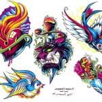 Free Flash Tattoos Art