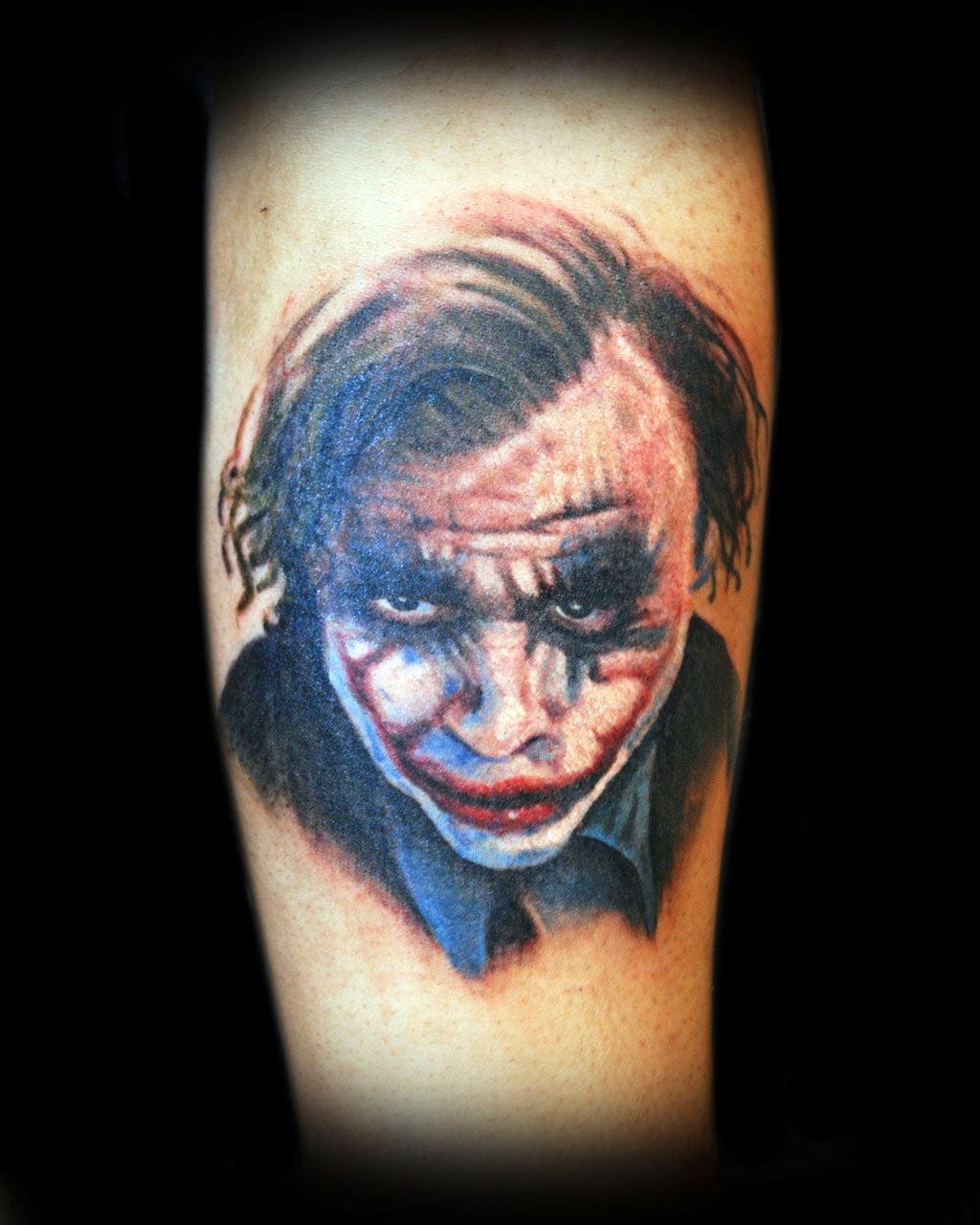 free joker tattoos designs cool tattoos bonbaden